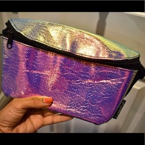 Urban Outfitters Holographic Fanny Pack - Like NEW